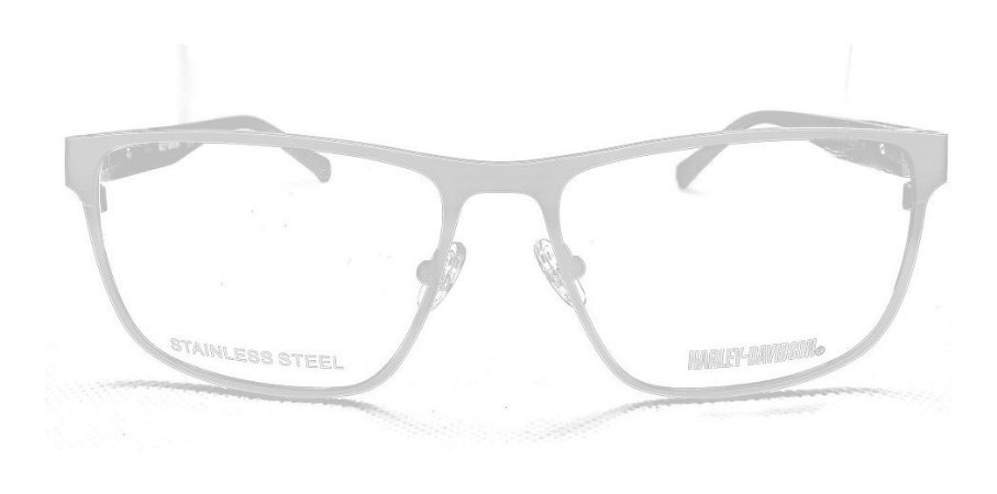 Óculos Armação Harley Davidson Hd0863 009 Metal Cinza T58