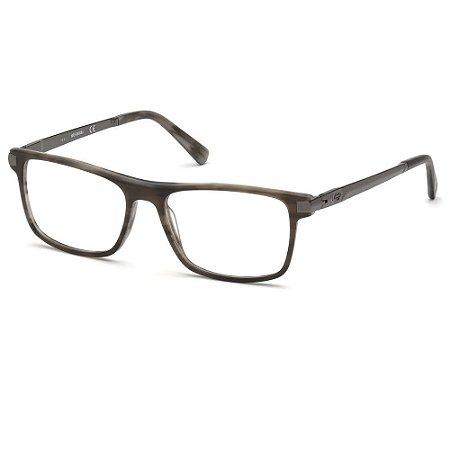 Óculos Armação Harley-Davidson HD0785 065 Cinza Acetato