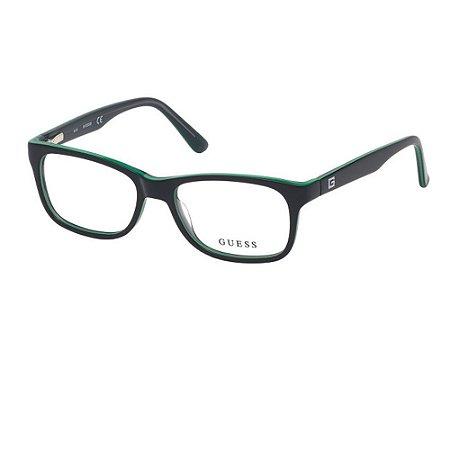 Óculos Armação Guess GU9184 Infantil Preto Acetato 005