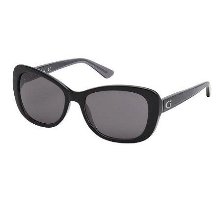 Óculos Solar Guess GU7475 01A Preto Acetato Feminino