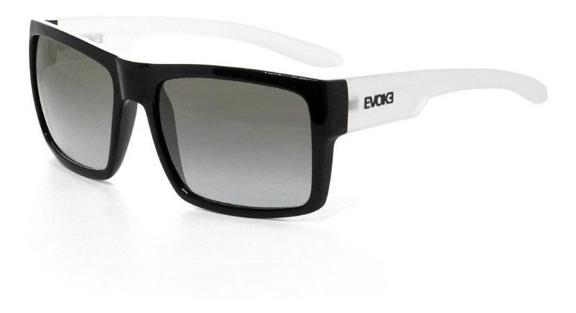 Óculos Sol Evoke The Code IIA02 Preto / Cinza Degradê