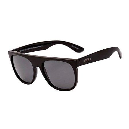 Óculos Solar Evoke Haze BR01P Preto Acetato Polarizado