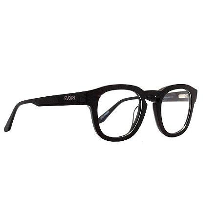 Óculos Armação Evoke In-Volt A01 Preto Fosco Masculino