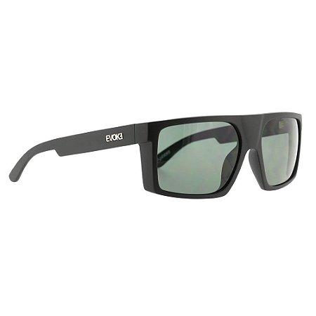 Óculos Solar Evoke Shift Big A12 Preto Fosco Lente Verde