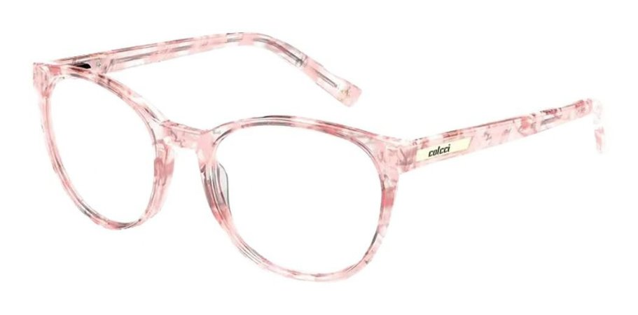 Óculos Armação Colcci Iris Fun C6169 Infantil Rosa Claro