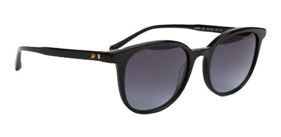 Óculos De Sol Hickmann Hi9029 A01 Preto / Cinza Degrade