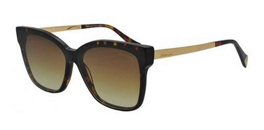 Óculos De Sol Hickmann Hi9083 G21 Marrom / Degrade
