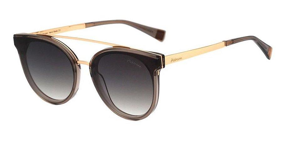 Óculos De Sol Hickmann Hi9080 Feminino T02 Marrom Degrade