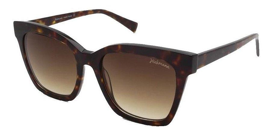 Óculos De Sol Hickmann Hi9071 G21 Marrom Mesclado / Degrade