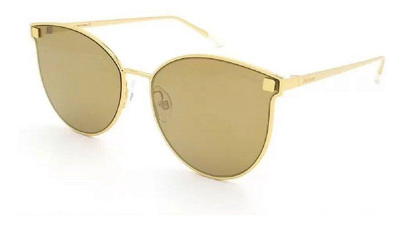 Óculos Solar Hickmann Hi3032 04a Dourado Metal Feminino