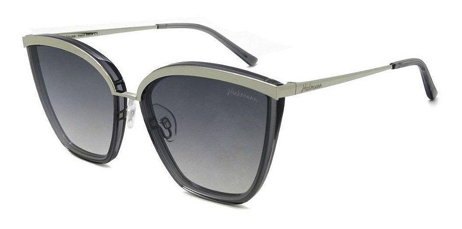 Óculos De Sol Hickmann Hi9077 T01 Cinza /degrade