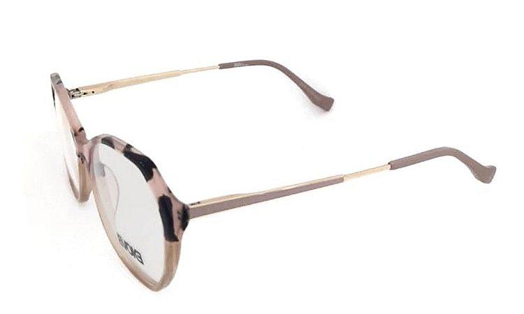 Óculos Armação Evoke Evk Rx43 G22 Mesclado Feminino Rose
