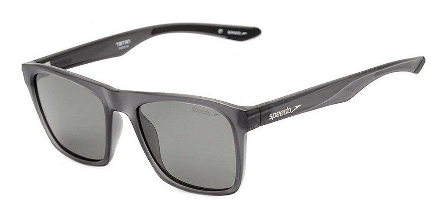 Óculos De Sol Speedo Cabo H01 Cinza Translucido Fosco