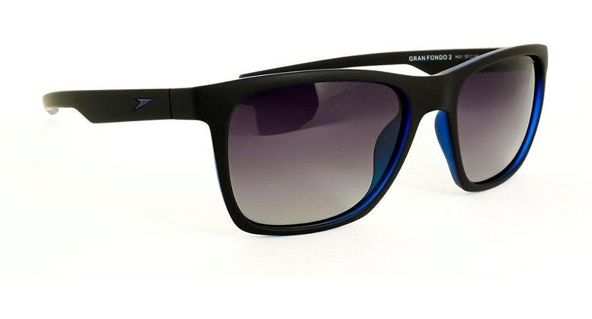 Óculos De Sol Speedo Gran Fondo 2 H01 Preto Fosco
