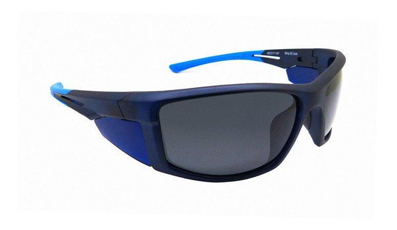 Óculos De Sol Speedo Pro 5 D01 Azul Translucido Polarizado