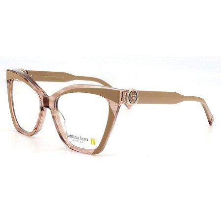 Óculos Armação Sabrina Sato SS666 C2 Gatinho Rosa