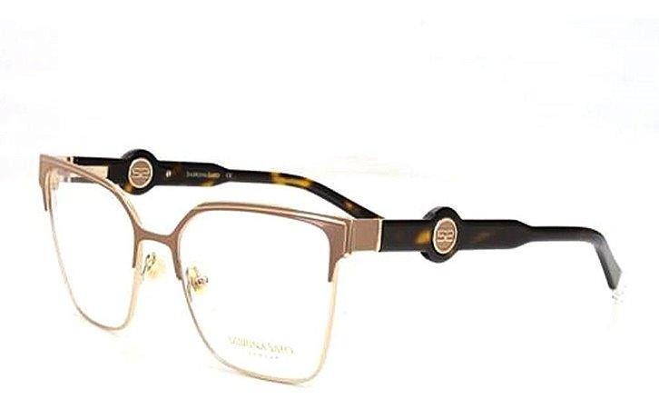 Óculos Armação Sabrina Sato Ss675 C2 Bege Dourado
