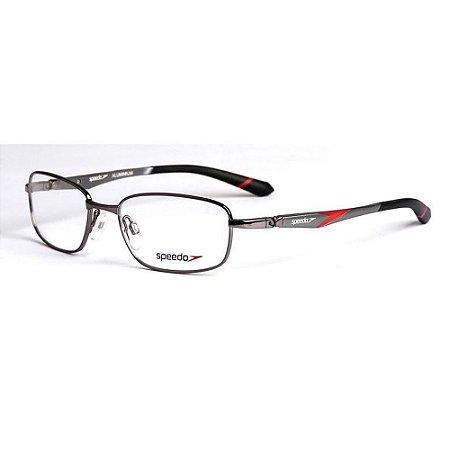 Óculos Armação Speedo SP1335 02A Masculino Metal Grafite
