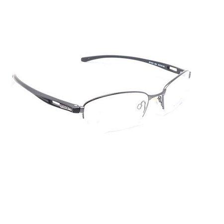 Óculos Armação Speedo SP1313 02A Masculino Metal Prateado