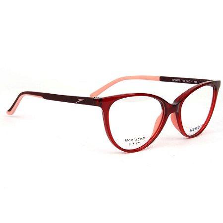 Óculos Armação Speedo SPK4005 T02 Infantil Acetato Vermelho