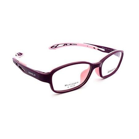 Óculos Armação Speedo SPK4012W H02 Infantil Acetato Feminino