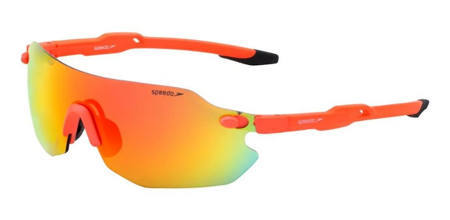 Óculos De Sol Speedo Inter-action 2 L01 Laranja Espelhado