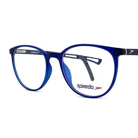 Óculos Armação Speedo SPK7001 D01 Azul Acetato Masculino