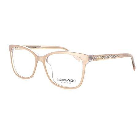 Óculos Armação Sabrina Sato SS132 C3 Acetato Nude Feminino