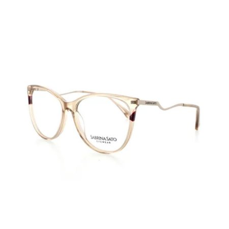 Óculos Armação Sabrina Sato SS123 C3 Translucido Feminino