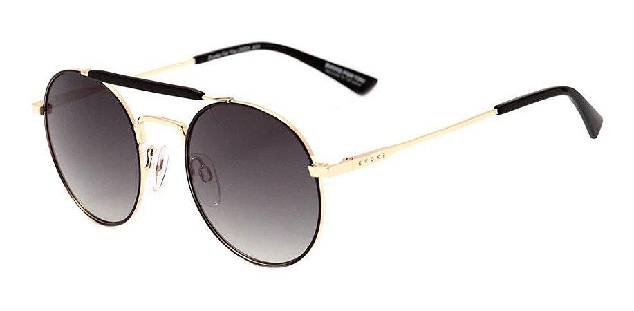 Óculos De Sol Evoke For You Ds53 Unissex Preto A01  Degrade