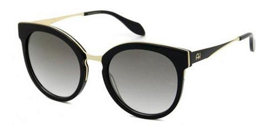 Óculos De Sol Ana Hickmann Ah9263 A01 Preto / Espelhado