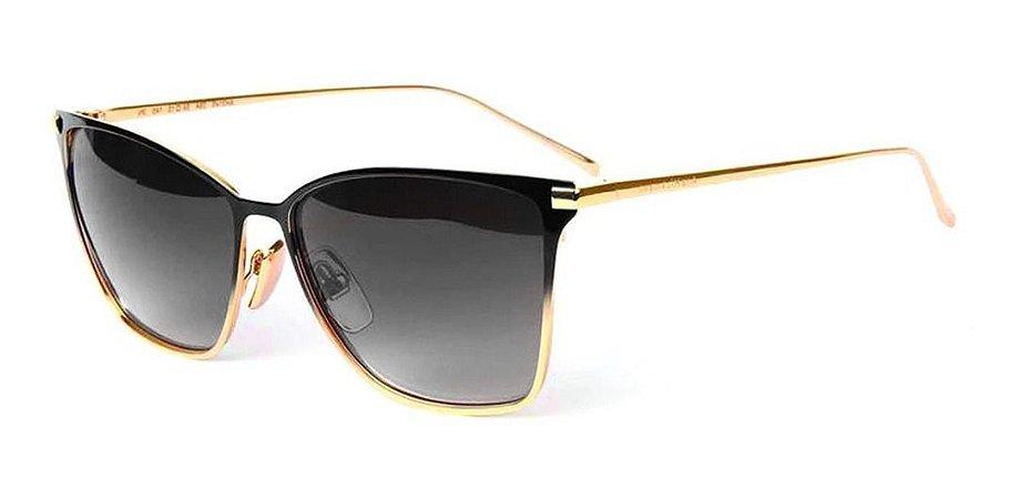 Óculos Solar Ana Hickmann Ah3145 09a Dourado Preto Feminino