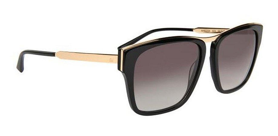 Óculos De Sol Ana Hickmann Ah9220a A03 Preto Feminino