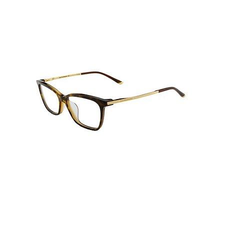 Óculos Armação Ana Hickmann AH6287 C01 Marrom Feminino