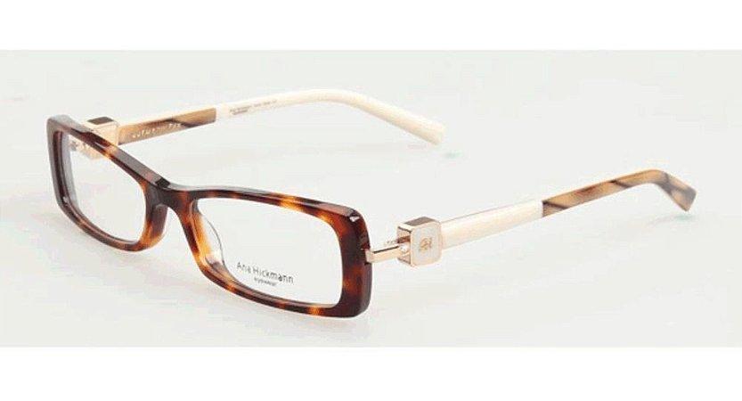 Óculos Armação Ana Hickmann Ah6229 G21  Marrom Feminino