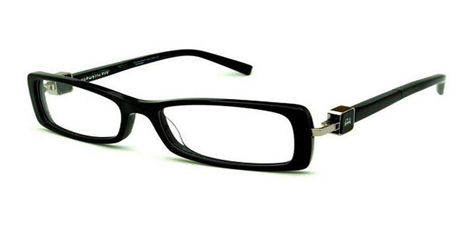 Óculos De Grau Ana Hickmann Ah6229 A01 Acetato  Preto