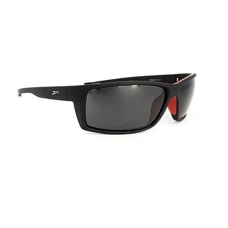 Óculos De Sol Speedo Angra 3 A01 Preto Lente Cinza Polarizad