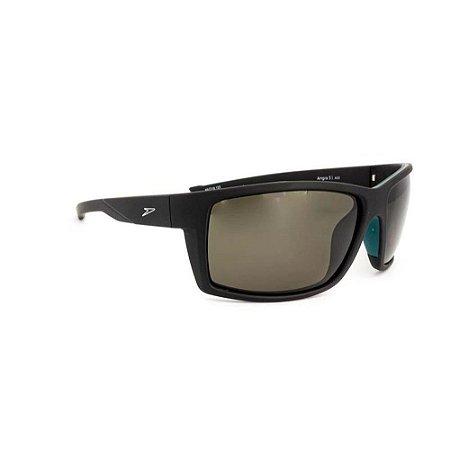 Óculos de Sol Speedo Angra 3 A02 Preto Lente Cinza Polarizad