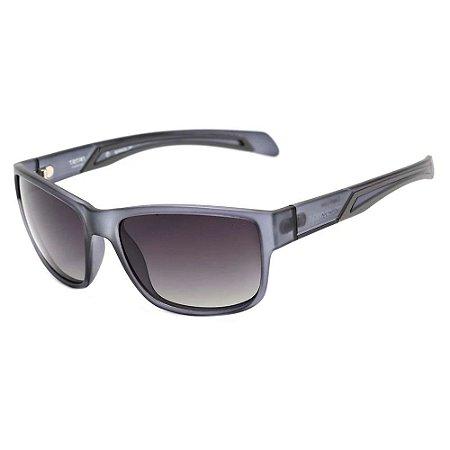 Óculos De Sol Speedo Capri D01 Cinza Translúcido Fosco