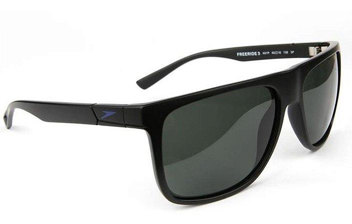 Óculos De Sol Speedo Freeride 3 A01p Preto Lente  Polarizada