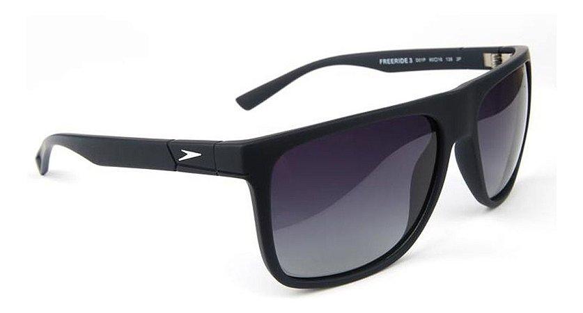 Óculos De Sol Speedo Freeride 3 D01p Preto Lente  Degrade