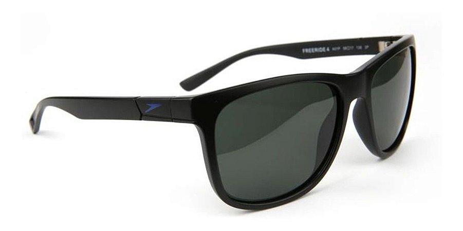 Óculos De Sol Speedo Freeride 4 A01p Preto  Lente Polarizada