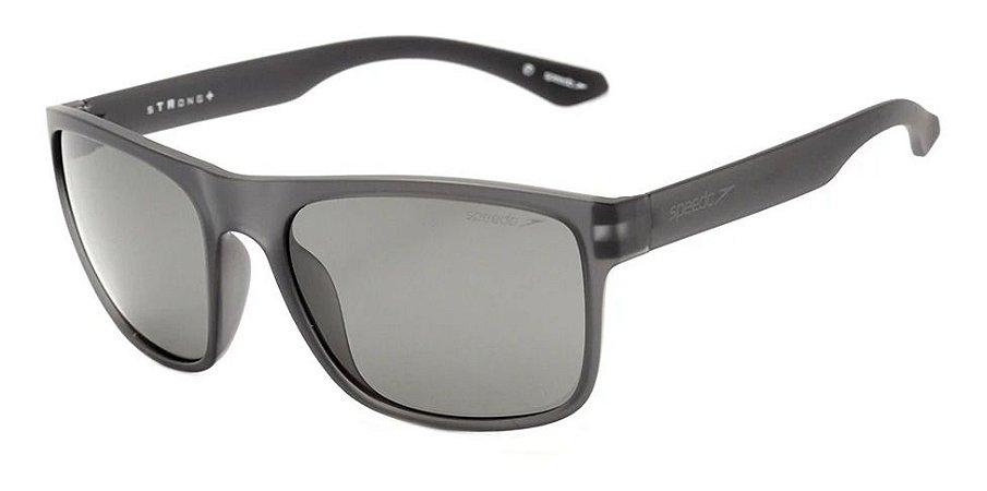 Óculos De Sol Speedo Stronge Giga H01 Cinza Lente Polarizad