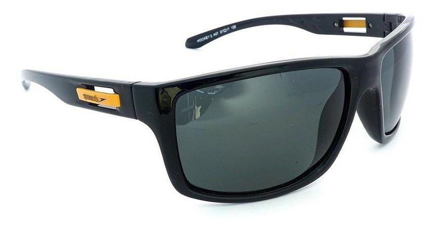 Óculos De Sol Speedo Hockey 2 A07 Preto Lente Polarizad