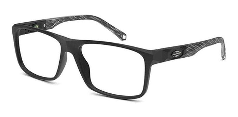 Óculos Armação Mormaii Kyoto M6083 Aco 57 Preto Masculino