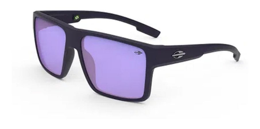 Óculos De Sol Mormaii Macau Masculino Fosco Lente Violeta