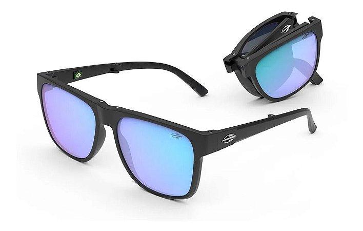 Óculos De Sol Mormaii Origami Dobrável Unissex Espelhado