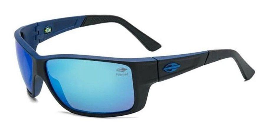 Óculos De Sol Infantil Mormaii Joaca 3 Nxt Azul Espelhado