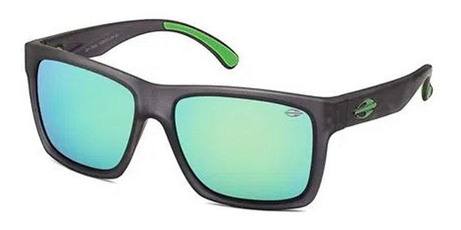 Óculos De Sol Mormaii San Diego Fosco Lente Verde Espelhado