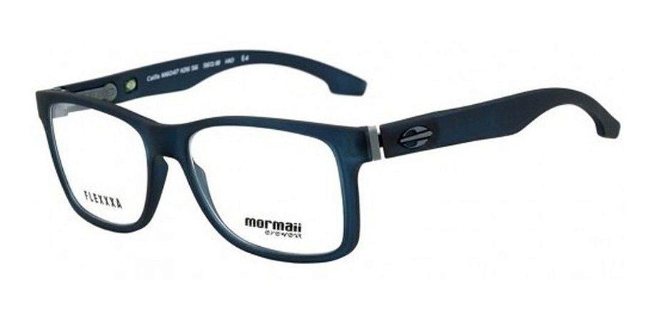Óculos Armação Mormaii Califa M6047i3656 Masculino Azul Fosc